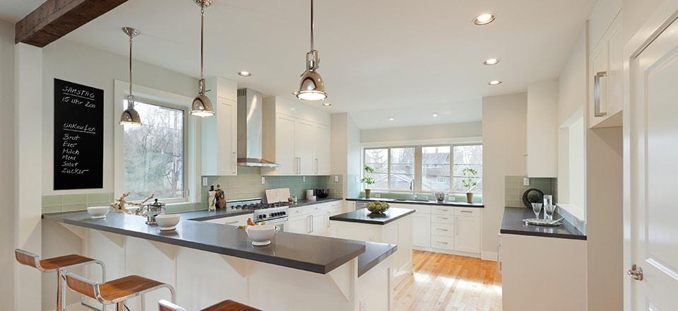 Infraroodverwarming keuken
