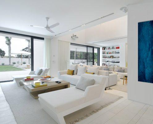 Infraroodverwarming woonkamer