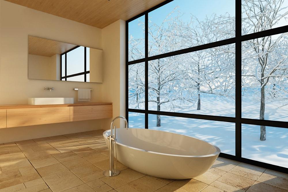 Infrarood Verwarming Spiegel : Infraroodverwarming badkamer aabogreentech