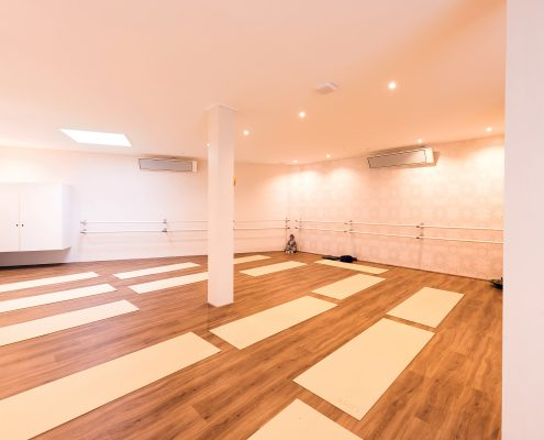 Infraroodverwarming hot yoga