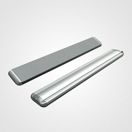Moel 2200 zilver met dimmer