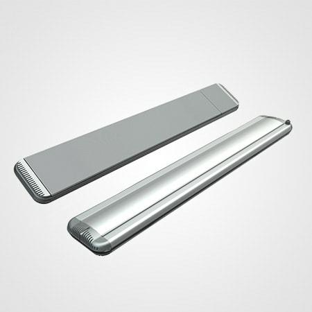 Moel zilver 1350 met dimmer