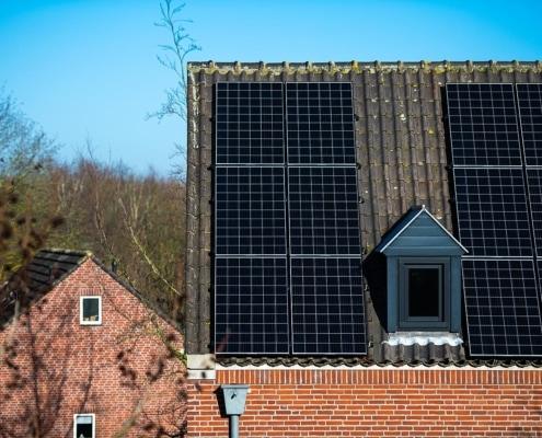 Zonnestroomsysteem met ruim 21.000WP vermogen – Kantoorpand Gennep