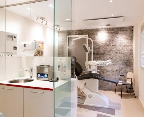Mondhygienistenpraktijk voorzien van infrarood verwarmingspanelen - Leiden
