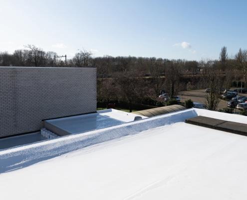 Hittereflecterend en waterdicht dak dankzij renovatie met Enduris Vloeibare dakbedekking – Den Bosch