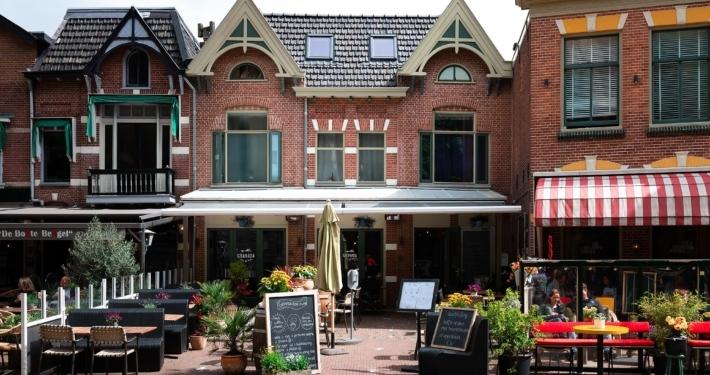 Infrarood verwarmingspanelen en terrasverwarmers - Restaurant Granada, Alkmaar