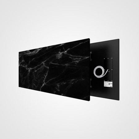 Welltherm foto stone art black marble
