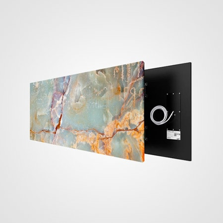 Welltherm foto stone art green marble