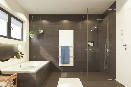 Welltherm Handdoekdroger glas
