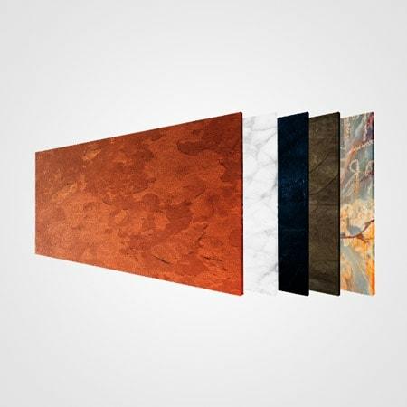 Infrarood verwarmingspanelen met Stone Art print